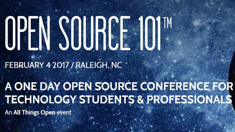 Invited to Speak @ Open Source 101